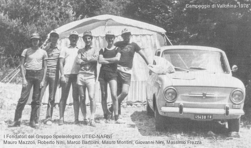 I fondatori del Gruppo UTEC NARNI